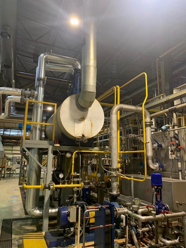 Замена подводящего газопровода к производственной печи