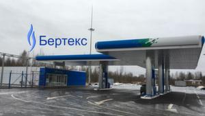 Монтаж узла учета газа на АГНКС-1, ООО «Газпром газомоторное топливо»