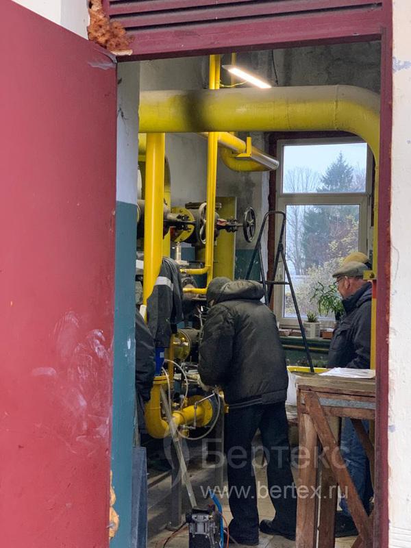 Замена узла учета газа и ГРУ в Пу́лковской обсерватории (ГАО РАН)