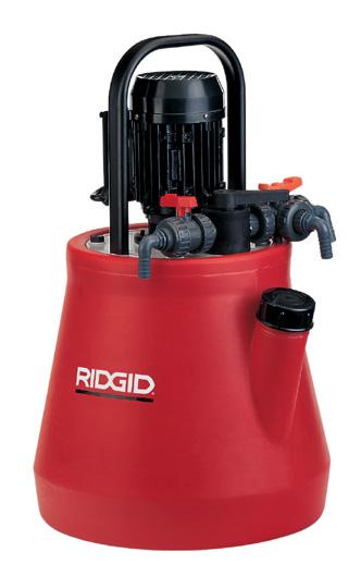 Установка для промывки теплообменников RIDGID DP-24 Дербент теплообменник кожухотрубчатый стоимость