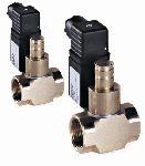 MP16/RM N.A. Компактные нормально открытые электромагнитные газовые клапаны. Ручной взвод
