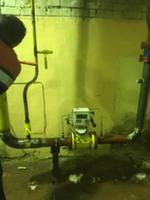 Установка узла учета газа в котельной №8 Всеволожского района