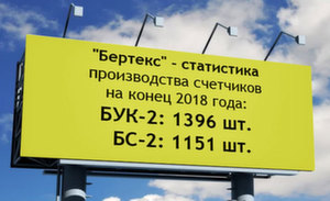 """""""Бертекс"""" - статистика  производства 2018г."""